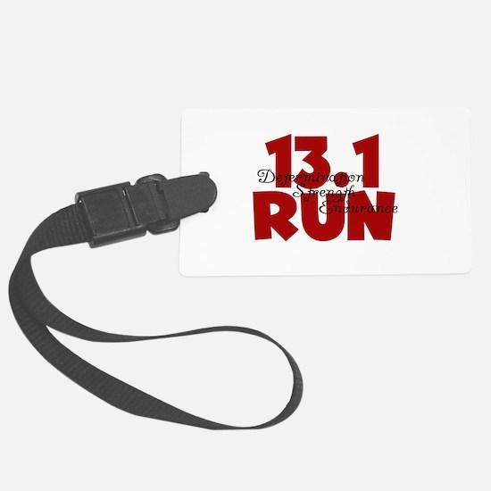 13.1 Run Red Luggage Tag