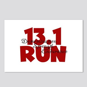 13.1 Run Red Postcards (Package of 8)