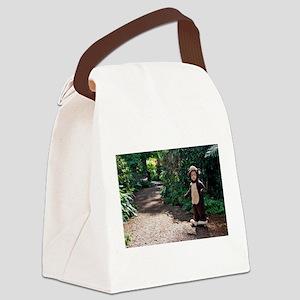 MonkeyTrail100111 Canvas Lunch Bag