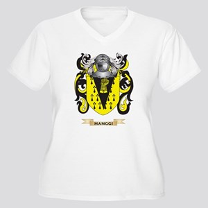 Hanggi Coat of Arms (Family Crest) Plus Size T-Shi