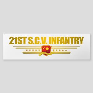 21st SCV Infantry Bumper Sticker