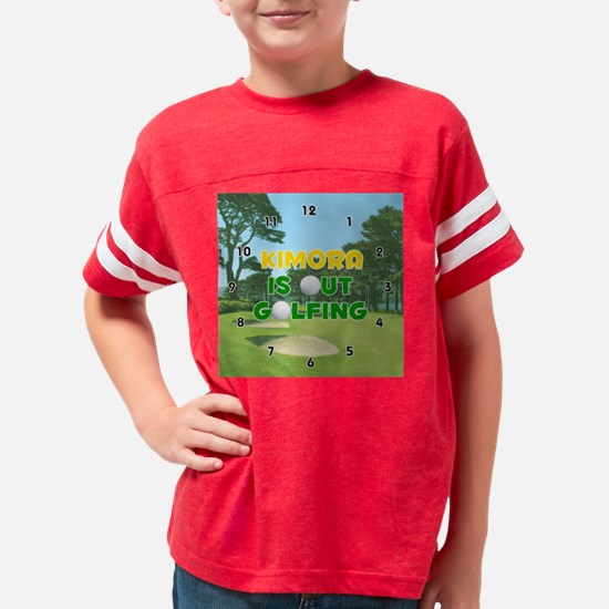 F601GO-Kimora Youth Football Shirt