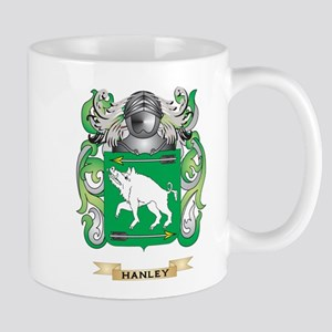 Hanley Coat of Arms (Family Crest) Mug