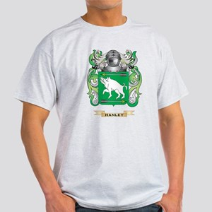 Hanley Coat of Arms (Family Crest) T-Shirt