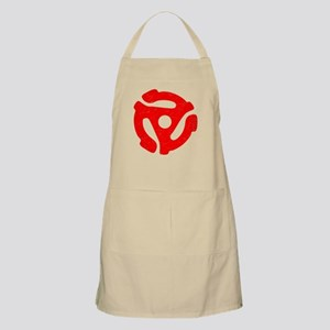 Red Distressed 45 RPM Adapter Apron