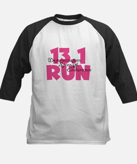 13.1 Run Pink Kids Baseball Jersey