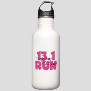 13.1 Run Pink Stainless Water Bottle 1.0L