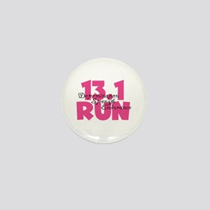 13.1 Run Pink Mini Button