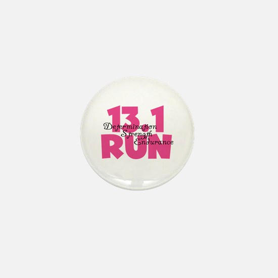 13.1 Run Pink Mini Button