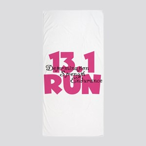 13.1 Run Pink Beach Towel