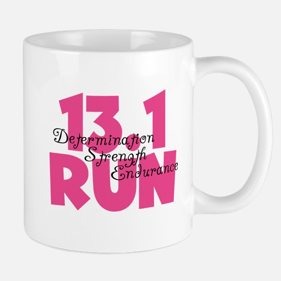 13.1 Run Pink Mug