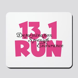 13.1 Run Pink Mousepad