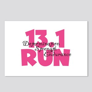 13.1 Run Pink Postcards (Package of 8)