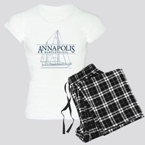 Annapolis Sailboat - Women's Light Pajamas