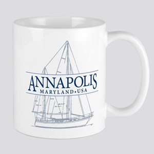 Annapolis Sailboat - Mug
