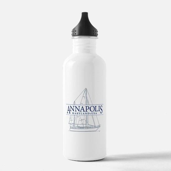 Annapolis Sailboat - Water Bottle