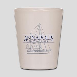 Annapolis Sailboat - Shot Glass