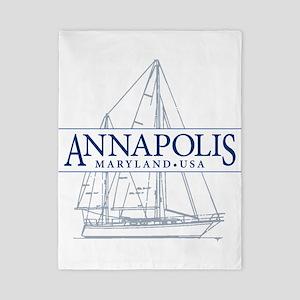 Annapolis Sailboat - Twin Duvet