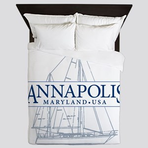 Annapolis Sailboat - Queen Duvet