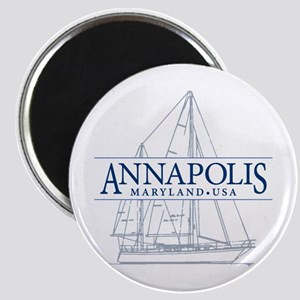 Annapolis Sailboat - Magnet