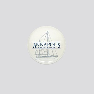 Annapolis Sailboat - Mini Button