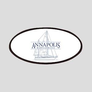 Annapolis Sailboat - Patches