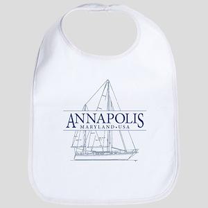 Annapolis Sailboat - Bib