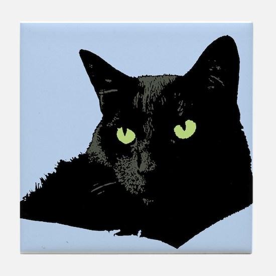 Diva Kitty Tile Coaster