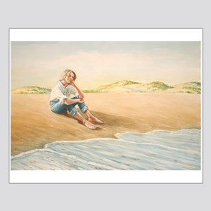 Woman on the Beach Posters