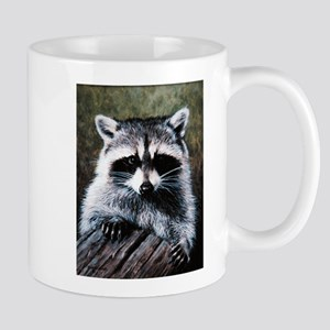 Raccoon Portrait Mug