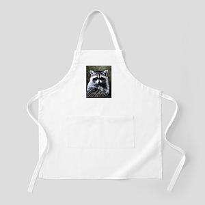 Raccoon Portrait Apron