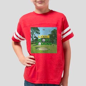 F601GO-Lizzie Youth Football Shirt