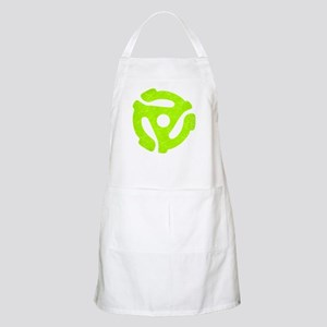 Lime Green Distressed 45 RPM Adapter Apron