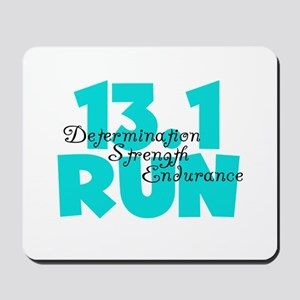 13.1 Run Aqua Mousepad