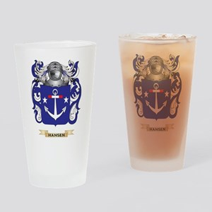 Hansen-(Denmark) Coat of Arms (Family Crest) Drink