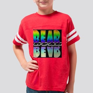 binDONEbkjOK Youth Football Shirt