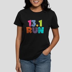 13.1 Run Multi-Colors Women's Dark T-Shirt