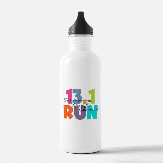 13.1 Run Multi-Colors Water Bottle