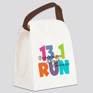 13.1 Run Multi-Colors Canvas Lunch Bag