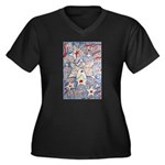 Stars and Stripes Angel Plus Size T-Shirt
