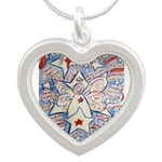 Stars and Stripes Angel Necklaces