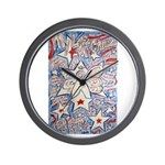 Stars and Stripes Angel Wall Clock