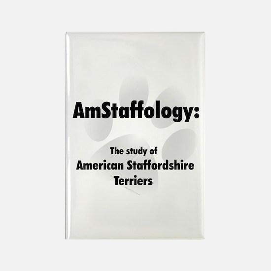 Amstaffology Rectangle Magnet