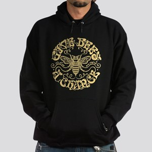 Give Bees a Chance Hoodie (dark)