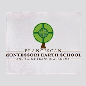 FMES Full Logo Throw Blanket