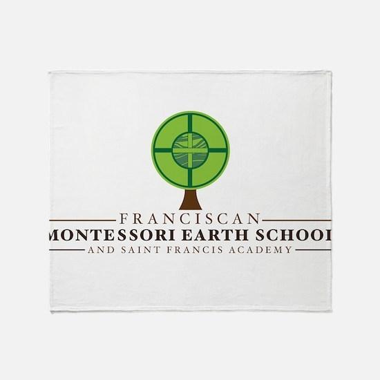 FMES Full Logo Throw Blanket