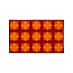 Orange Gem Clover 3'x5' Area Rug