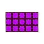 Lavender Gem Clover 3'x5' Area Rug