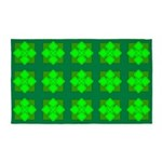 Green Gem Clover 3'x5' Area Rug