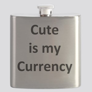 Cute is my Currency Flask